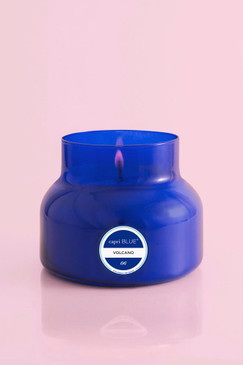 capri Blue Signature Blue Jar Volcano Candle, 19 oz