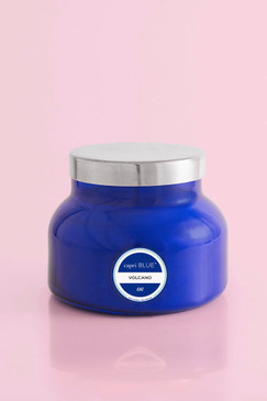 capri Blue Volcano Candle Blue Petite Jar, 8 oz