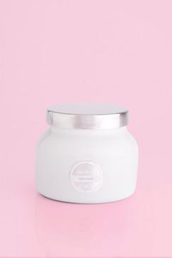 capri Blue Volcano Candle White Signature Jar, 19 oz