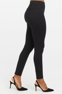 SPANX The Perfect Black Pant Ankle Backseam Skinny Ponte Fabric  Oprah's Favorite Things