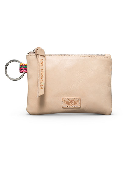 Consuela Teeny Pouch Diego Natural Leather