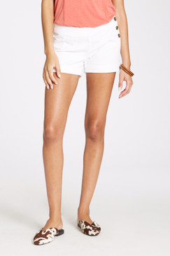 Dear John Esme Mid Rise Side Button Cuffed Shorts