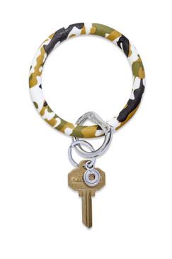 O-Venture Silicone Camo Key Ring