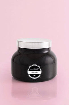 capri Blue Signature Black Jar Volcano Candle, 19 oz