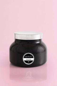 capri Blue Signature Black Jar Volcano Candle, 19 oz