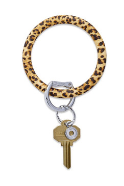 O-Venture Silicone Cheetah Key Ring