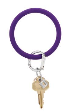O-Venture Silicone Deep Purple Key Ring