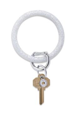 O-Venture Silicone Confetti Quick Silver Key Ring
