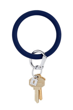 OVenture Silicone Solid Key Ring Midnight Navy