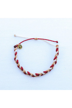 Pura Vida Multi Braided Bracelet Fireside Feels
