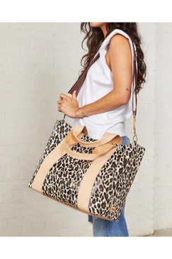 Consuela Large Carryall Mona Brown Leopard