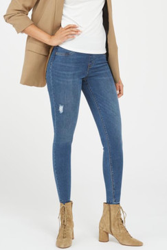 Spanx Distressed Ankle Skinny Jean