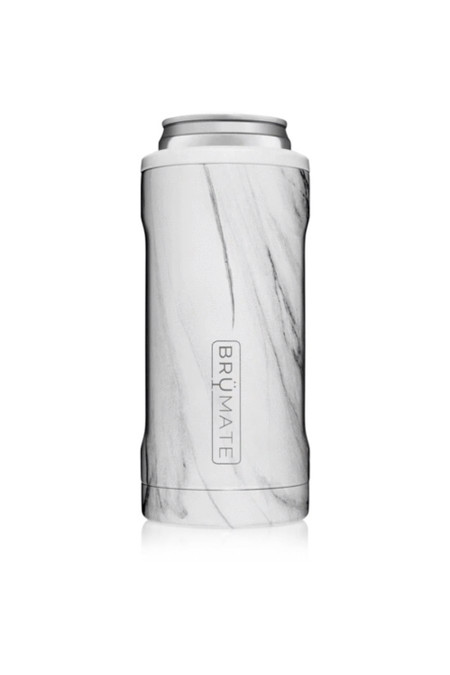 BruMate Hopsulator Slim Carrara 12 oz Slim Cans