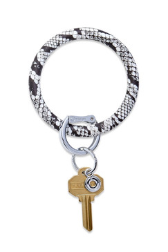 OVenture Silicone Snake Print Key Ring