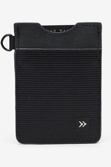 Thread Black Vertical Card Holder