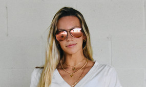 Courtney Blenders Heavenly Shine Sunglasses