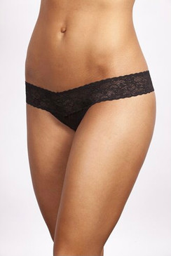 Mad Mac Lowrise Thong The softest thong you'll ever wear.® Black