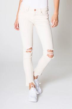 Dear John Mid Rise Joyrich Wheat Jeans