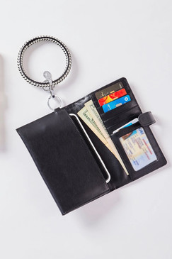Oventure Leather Organizer Wallet Back In Black