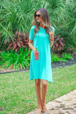 Jess Lea Maddy T Shirt Dress Mint