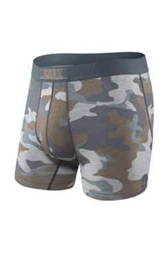 Saxx Grey Supersize Camo Vibe Boxer Brief