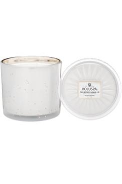 Voluspa 3 Wick GRANDE MAISON CANDLE Bourbon Vanilla