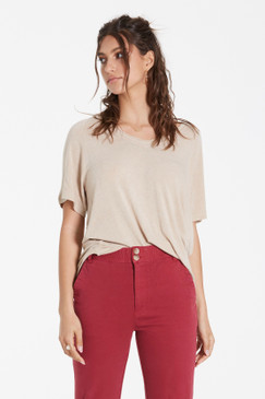 Another Love Taylor V Neck Tee Toast