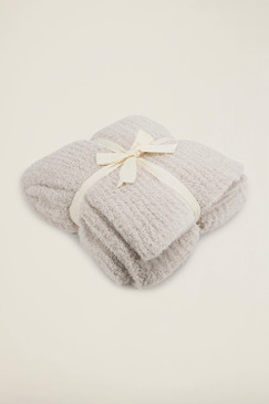 Barefoot Dreams CozyChic® Ribbed Throw Almond