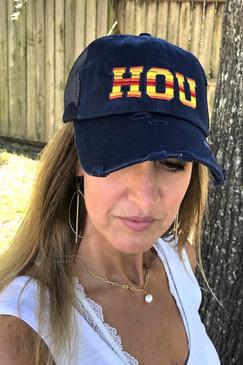 Navy Cap/Astros HOU
