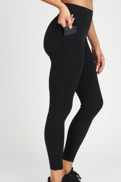 Spanx Every.Wear Knockout Leggings Very Black