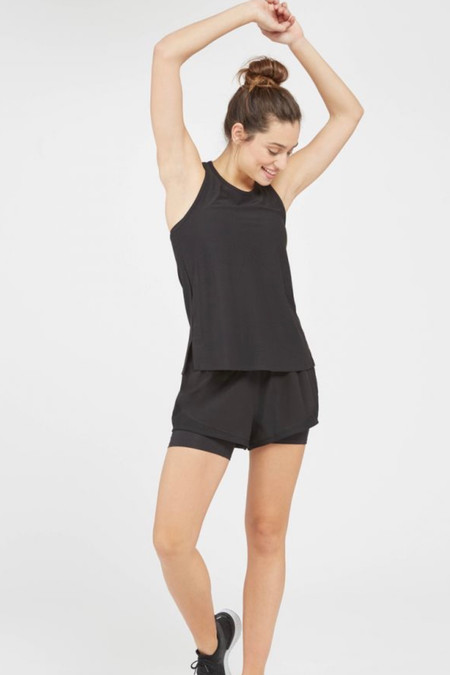 SPANX The Get Moving Short Black