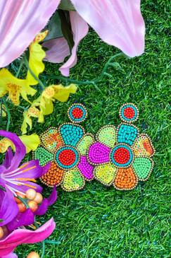Jess Leah Flower Power Earrings