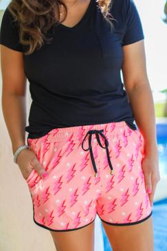 Jess Lea Shocking Moment Drawstring Everyday Shorts