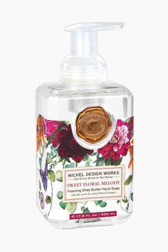 Michel Design Works Foaming Hand Soap Sweet Floral Melody
