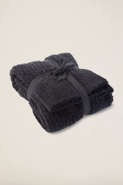 Barefoot Dreams CozyChic® Ribbed Throw Carbon