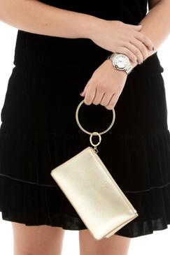 OVenture Baby Bracelet Bag- Gold