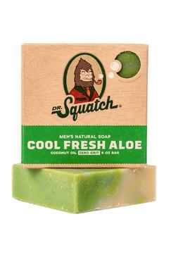 Dr Squatch Cool Fresh Alpine 5 oz Soap Zero Grit