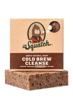 Dr Squatch Cold Brew Cleanse 5 oz Soap Heavy Grit