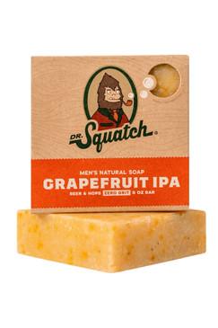 Dr Squatch Grapefruit IPA 5 oz Soap Zero Grit