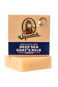 Dr Squatch Deep Sea Goat Milk 5 oz Soap Medium Grit