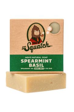 Dr Squatch Spearmint Basil 5 oz Soap Zero Grit