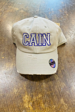 CAIN High School Cap Light Grey