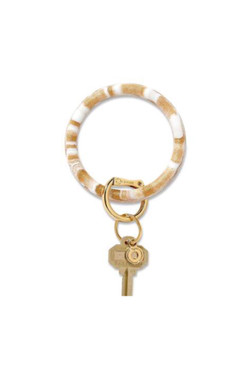 OVenture Silicone Gold Rush Marble Key Ring