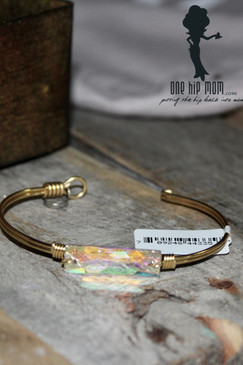 Luca + Danni Hudson Brass Wire Wrapped Bracelet