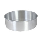 "9"" X 3"" LAYER CAKE PAN, ALUMINUM, 1.0mm"
