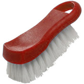 "6"" X 2 1/2"" X 2"" CUTTING BOARD BRUSH, PLASTICS, RED"