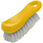 "6"" X 2 1/2"" X 2"" CUTTING BOARD BRUSH, PLASTICS, YELLOW"