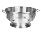 12 QT ALUMINUM COLANDER WITH HANDLE