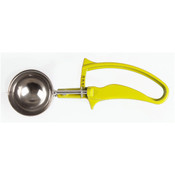 1 5/8 OZ  DISHER, #20 YELLOW, EASY GRIP HANDLE