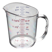 1 PINT/0.5L POLYCARBONATE MEASURING CUP